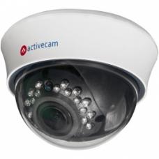 ActiveCam AC-D3123IR2 – Внутренняя купольная IP-камера с вариофокальным объективом и ИК-подсветкой.