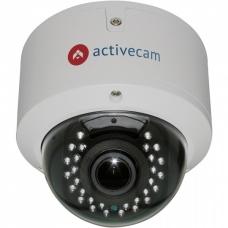 ActiveCam AC-D3123VIR2 – Уличная вандалостойкая купольная IP-камера с вариофокальным объективом.