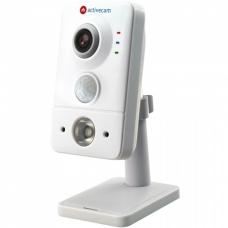 ActiveCam AC-D7141IR1 – Сетевая 4Мп Cube-камера, microSD и PIR.