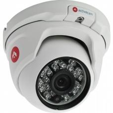 ActiveCam AC-D8141IR2 – Вандалозащищенная сферическая уличная 4Мп сетевая камера с ИК-подсветкой.