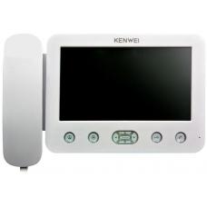 """KW-E705C-W200 монитор цветного видеодомофона 7"""""""