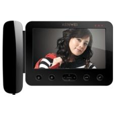 "Монитор цветного видеодомофона 7"" с трубкой KW-E705C"